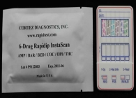 6-Panel Drug Test (Cassette) (AMP,BAR,BZD,COC,MET,THC)