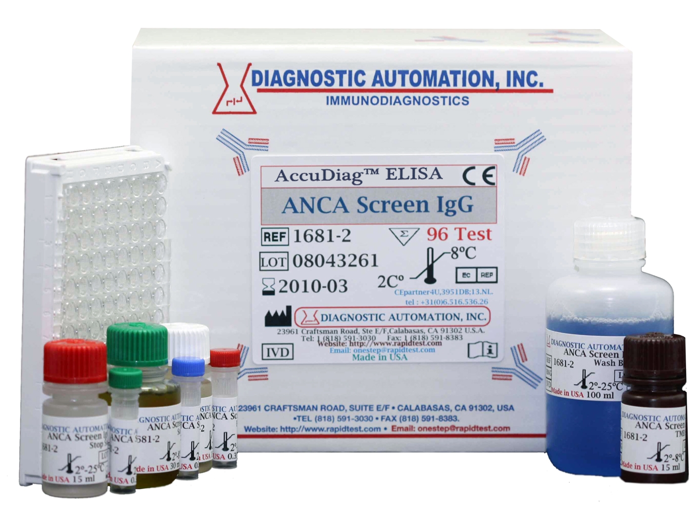 ANCA screen IgG ELISA kit