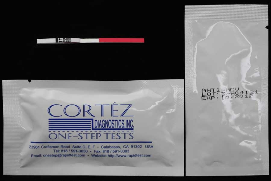 HCV  Rapid Test Serum (5 mm Strip)