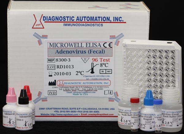 Adenovirus Fecal Elisa Test Kit Ce Gmp 818 591 3030 Usa