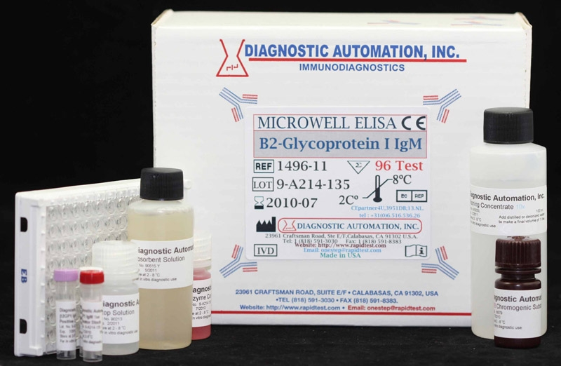 Beta 2 Glycoprotein 1 IgM ELISA kit