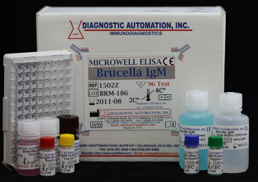 Brucella IgM ELISA kit