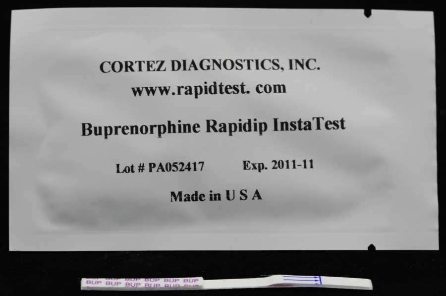 Rapid (BUP) Buprenorphine Drug Test (Strip)