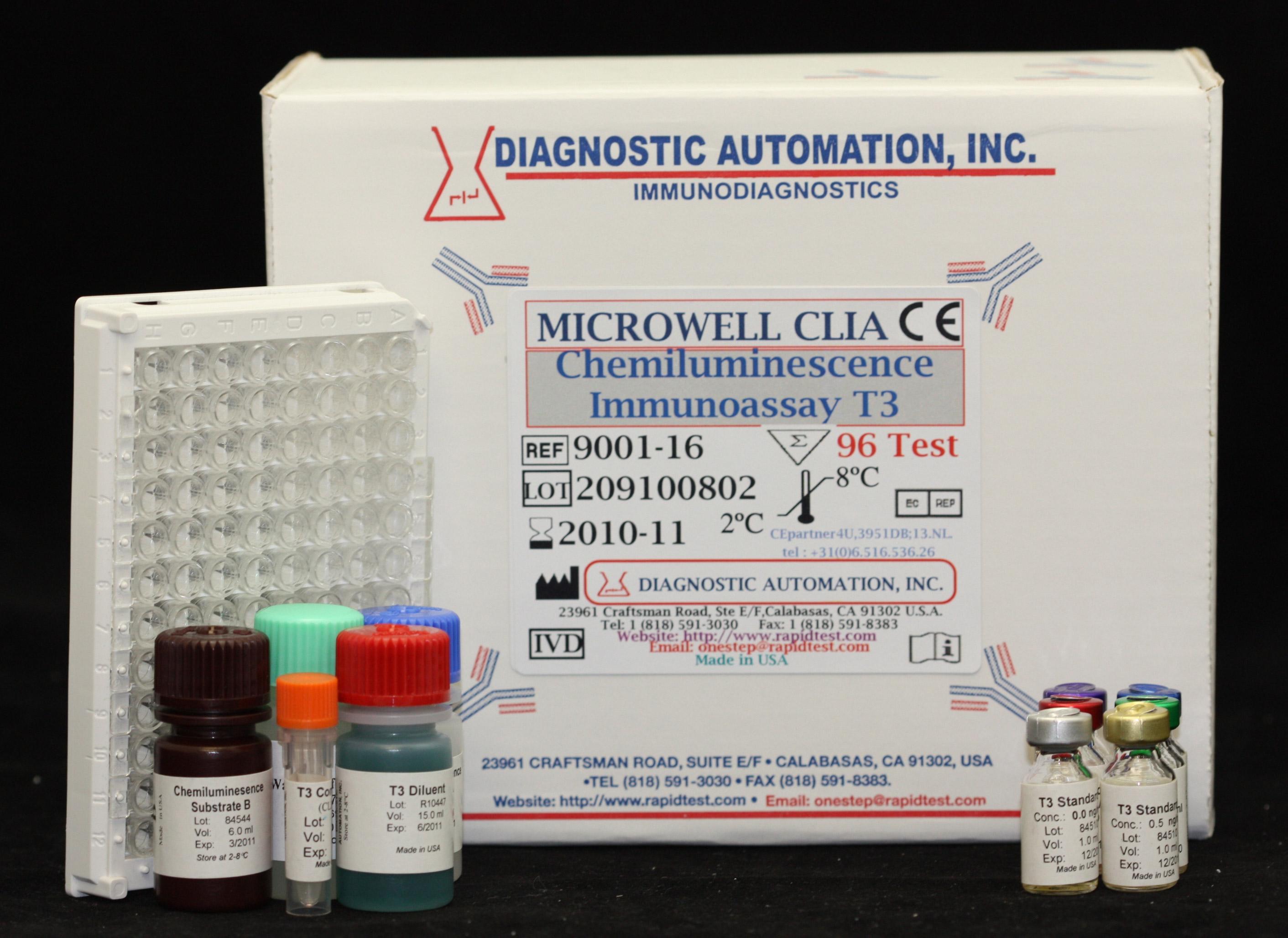 TSH CLIA kits - (Chemiluminescence Immuno Assay)