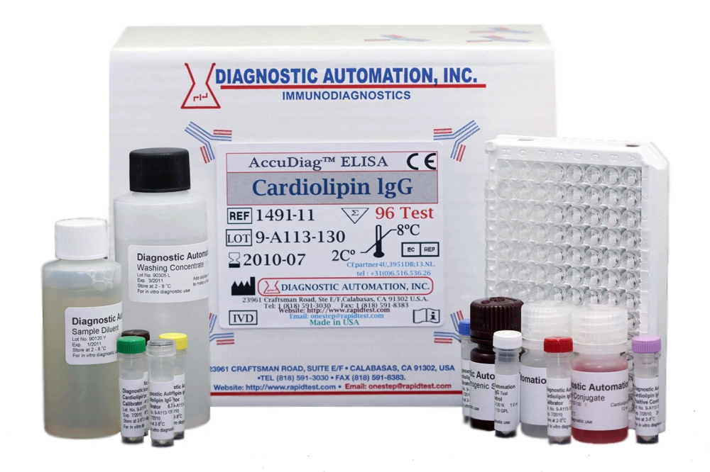Cardiolipin IgG ELISA kit