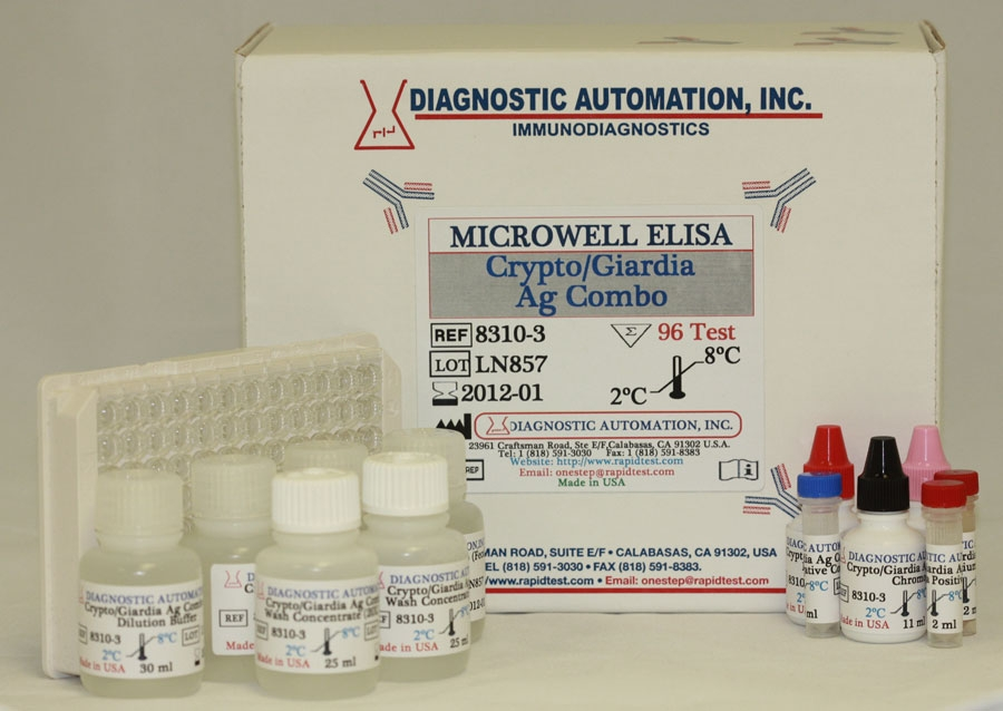 Giardia Water Test Kit Giardia Test Kit Human Rapidtest