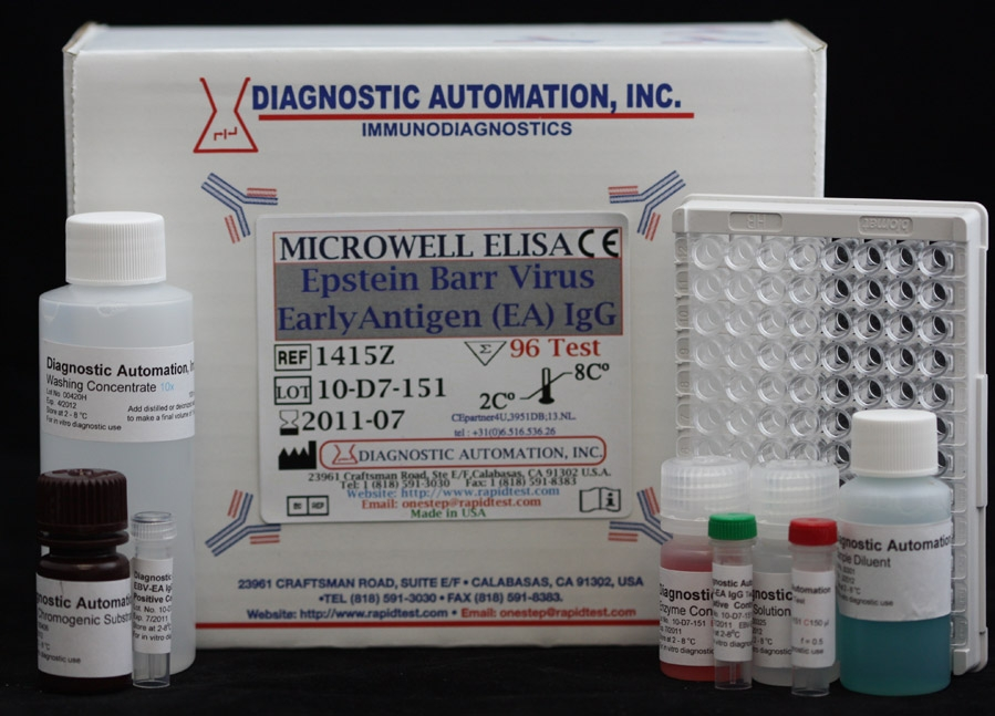 Epstein Barr Virus Early Antigen (EA) IgG ELISA kit