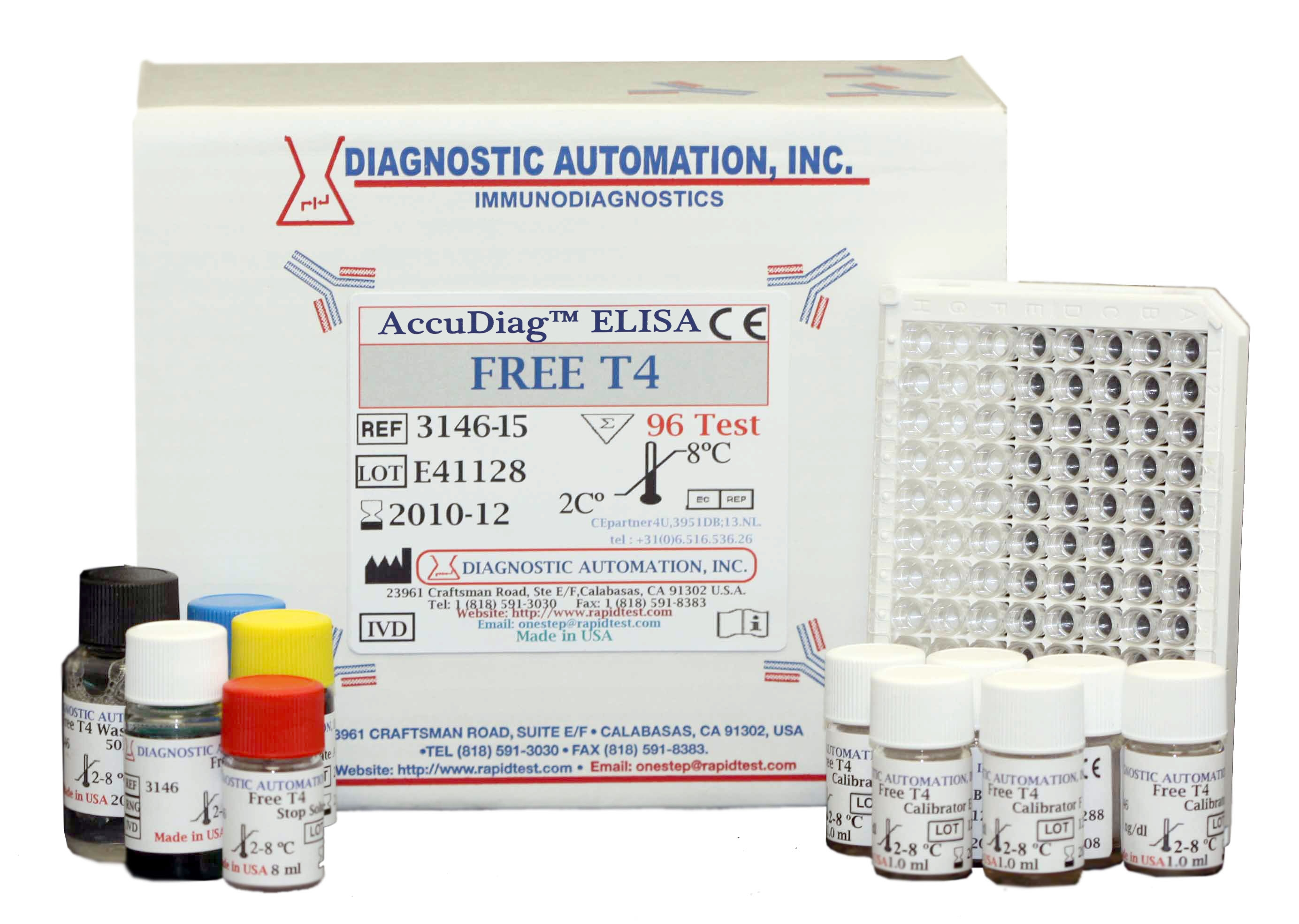 t4 free test t4 elisa kit t4 assay rapidtest
