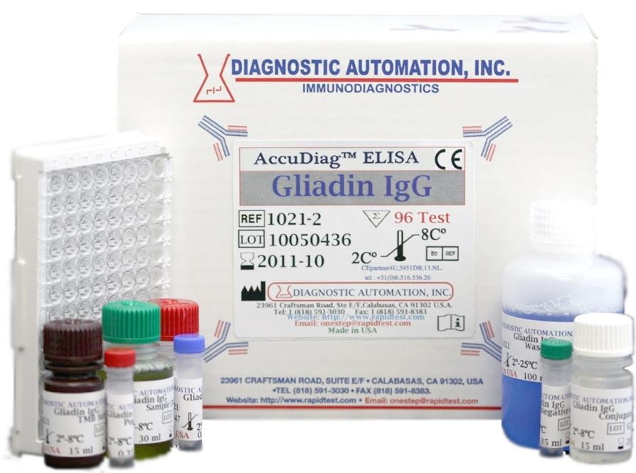 Gliadin IgG ELISA kit