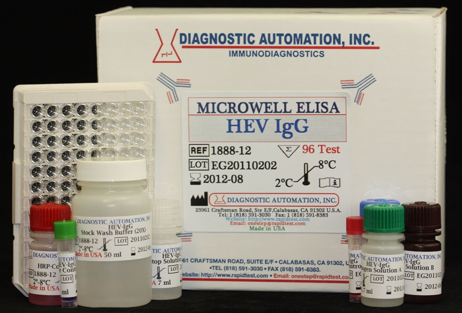 HEV IgG ELISA kit