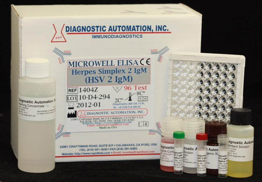 HSV-2 IgM ELISA kit