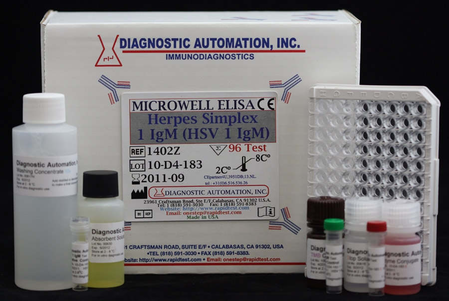 HSV-1 IgM ELISA kit