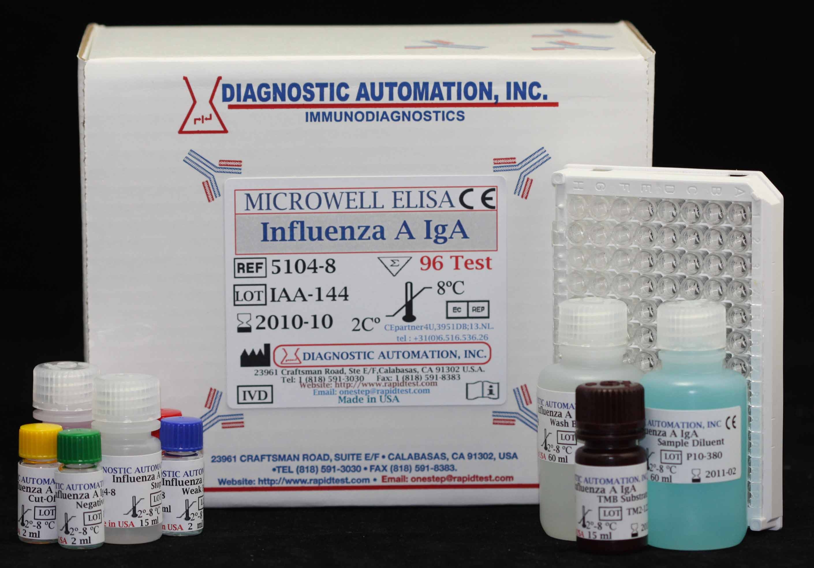 Influenza A IgA ELISA Kit