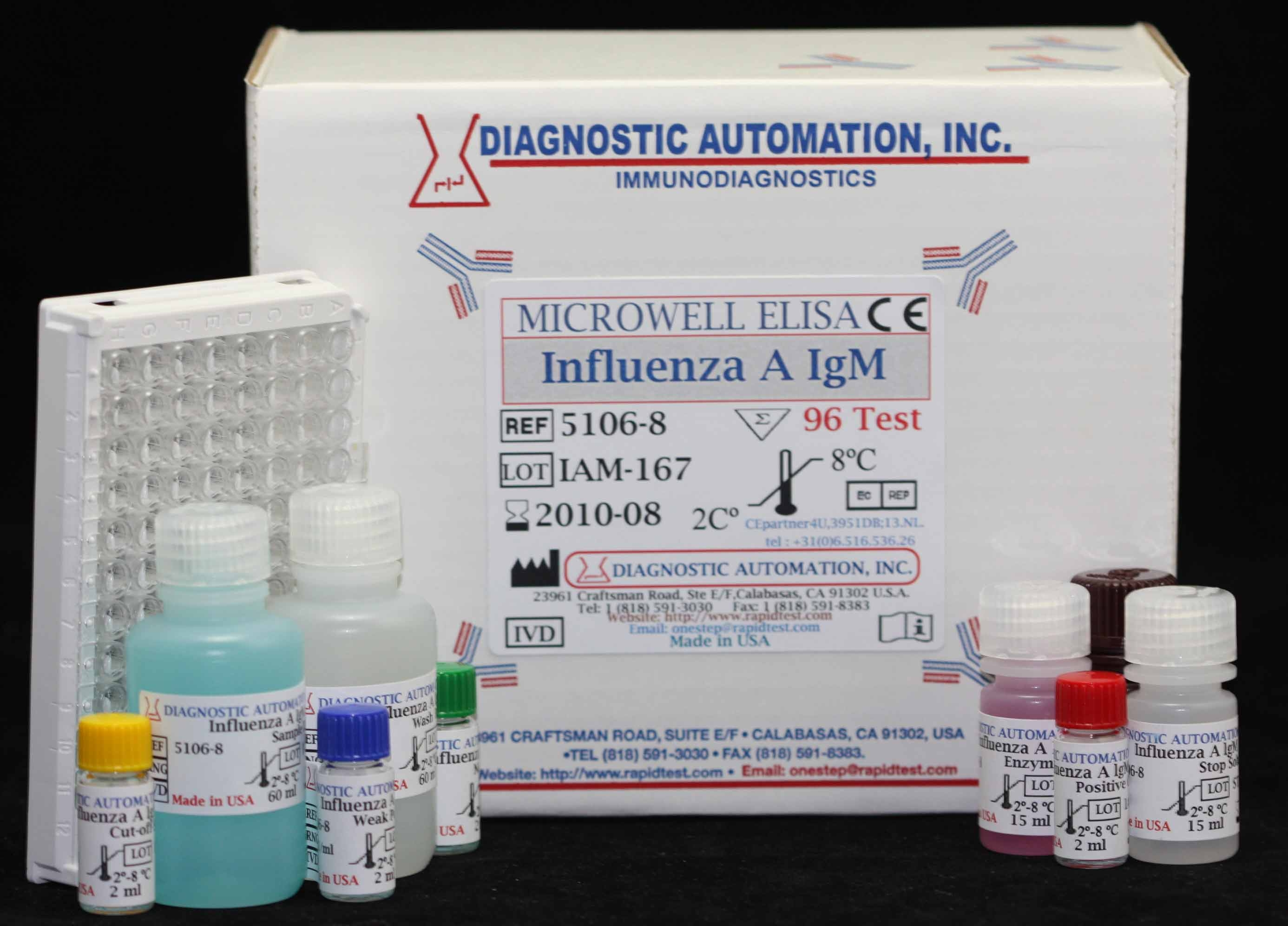 Influenza A IgM ELISA kit