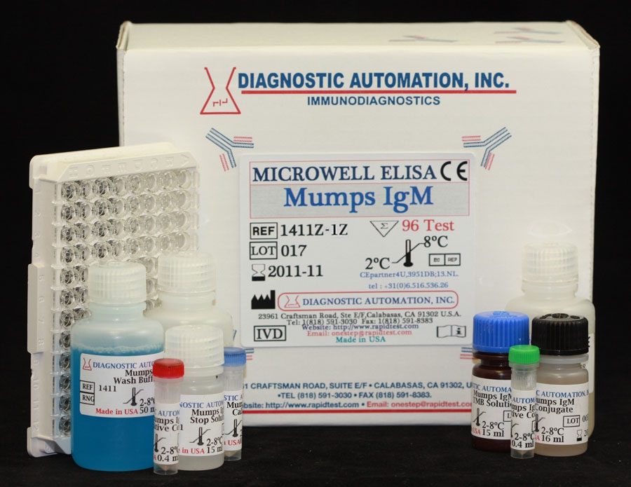 Mumps IgM ELISA kit