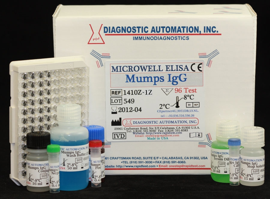 Mumps IgG ELISA kit