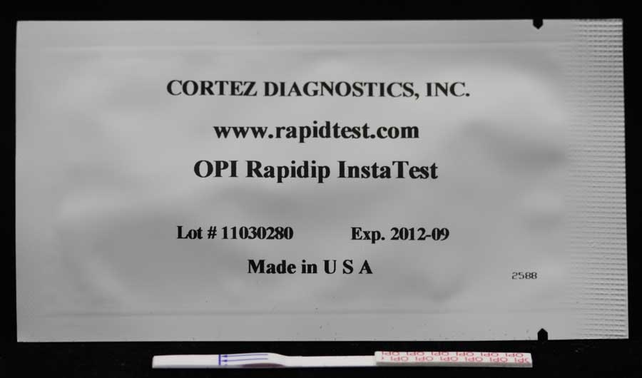 Rapid (OPI-MOR-HER) Opiates-Heroin-Morphine Drug Test (Strip)