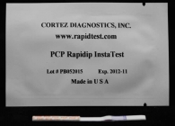 Rapid (PCP) Phencyclidine Drug Test (Strip)