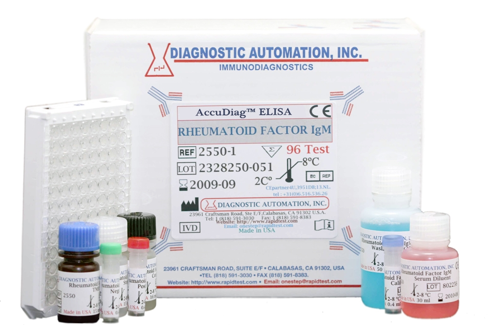 Rheumatoid Factor IgM (RF) ELISA kit