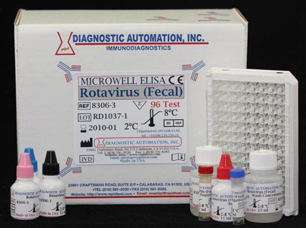 Rotavirus Fecal Elisa Test Kit Ce Gmp 818 5913030 Usa