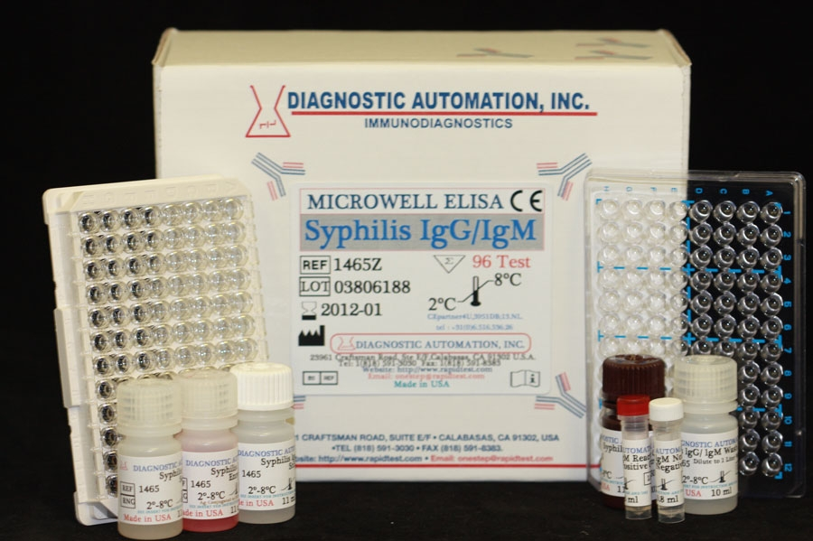 Syphilis (TPA) IgG/IgM ELISA Test