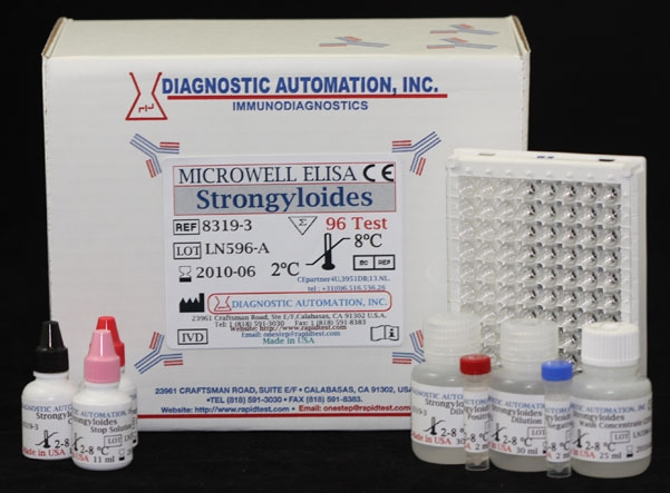 Strongyloides IgG  ELISA kit