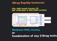 2-Panel Drug Test (Strip) (MET,THC)