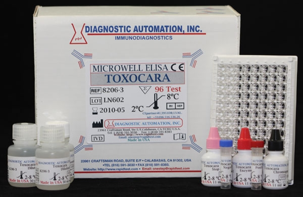 Toxocara IgG  ELISA kit